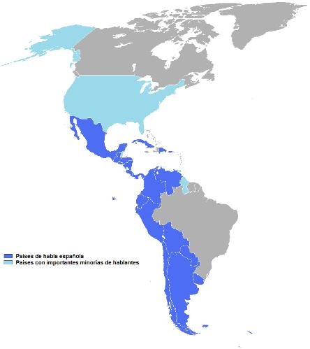 In spanischsprachigen Ländern