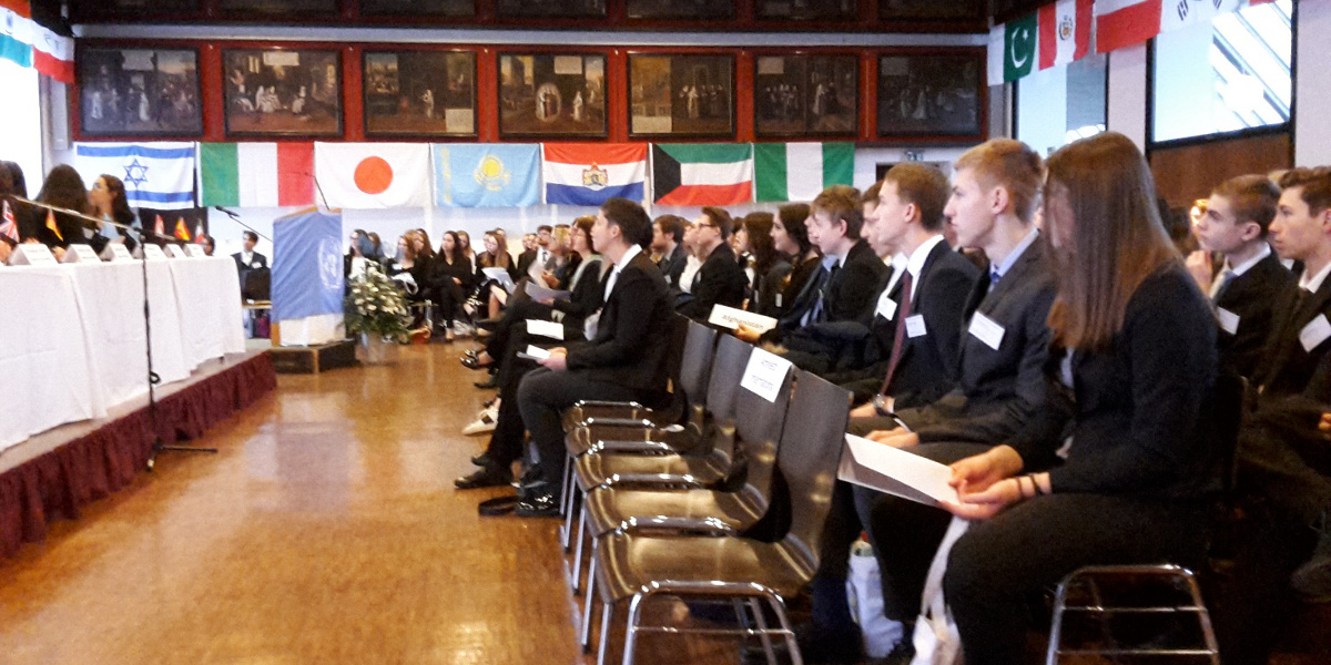 Model United Nations: 1.-3. Februar 2018 in Augsburg